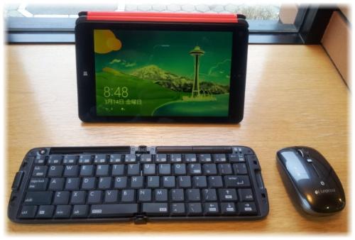 Thinkpad8とマッチするキーボード・マウス