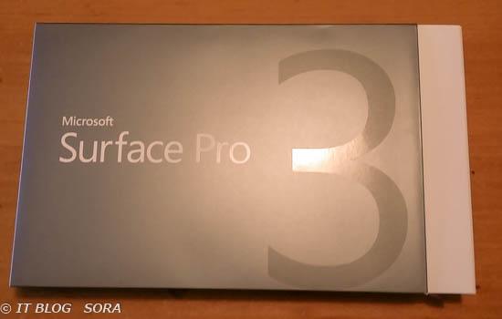 Surface PRO3を購入しました