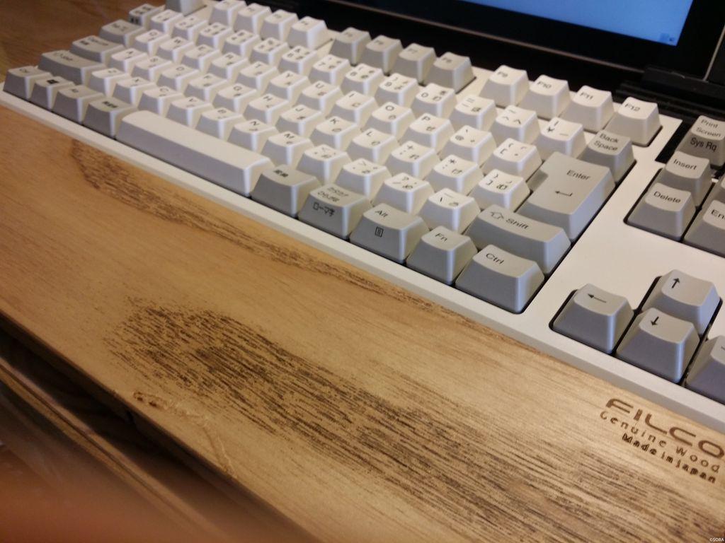 入力性を求めて、東プレ リアルフォースキーボードを購入しました