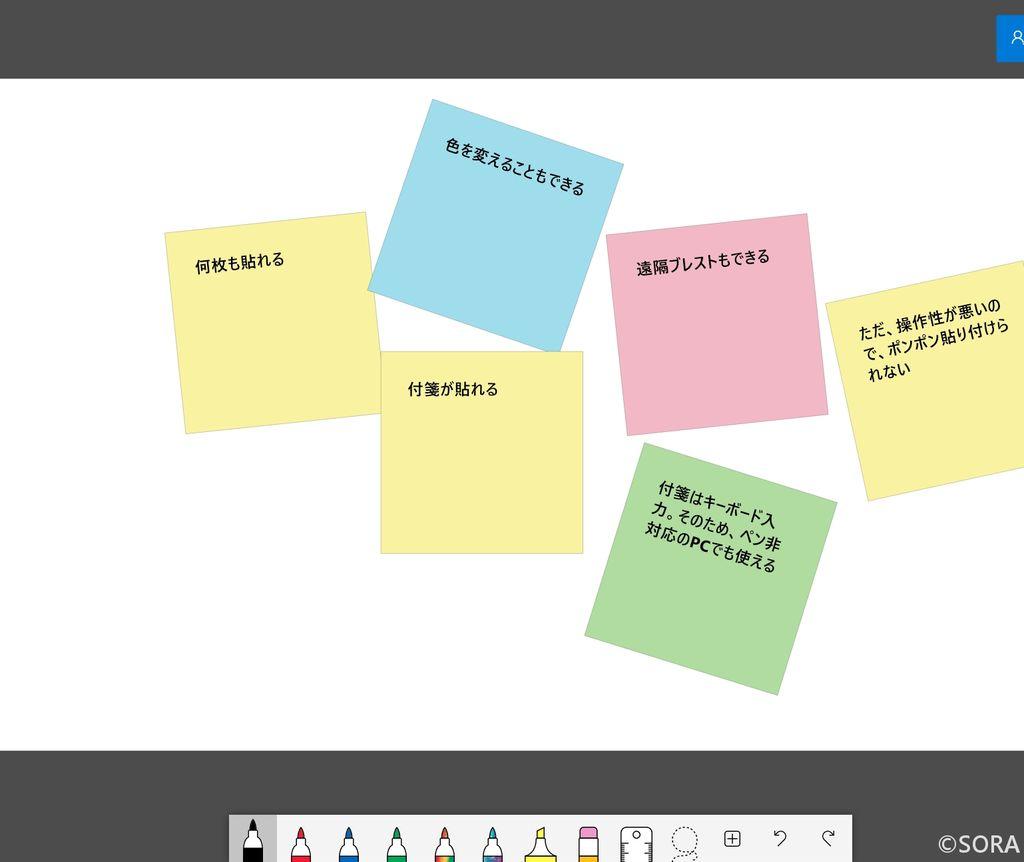 Surface Goでも使えるMicrosoft Whiteboardをご紹介します。