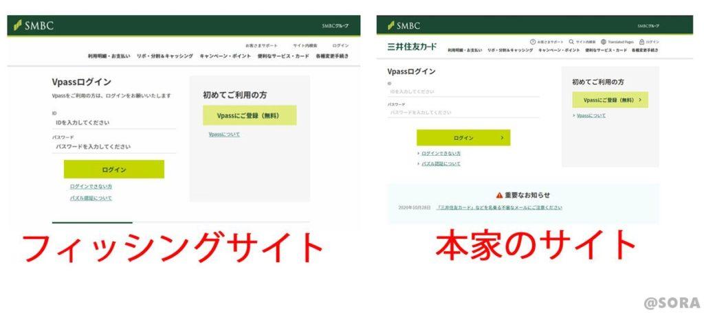 フィッシグサイトの比較