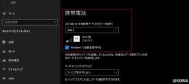 Surface Go2 LTE AdvanceでeSIMを使う方法